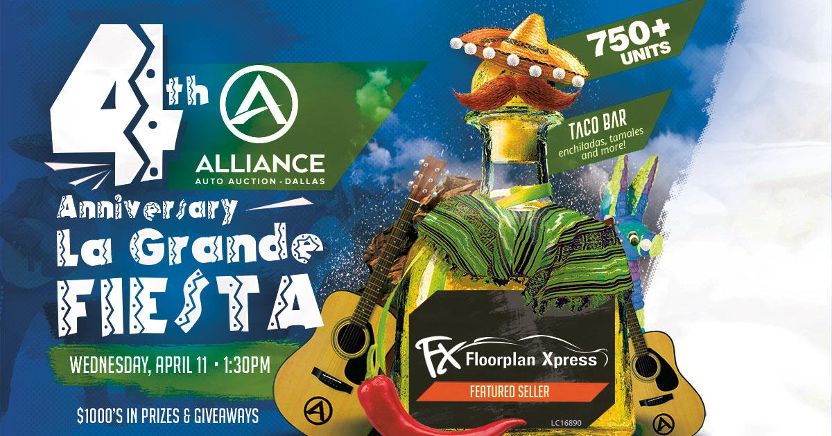 4th Anniversary La Grande Fiesta