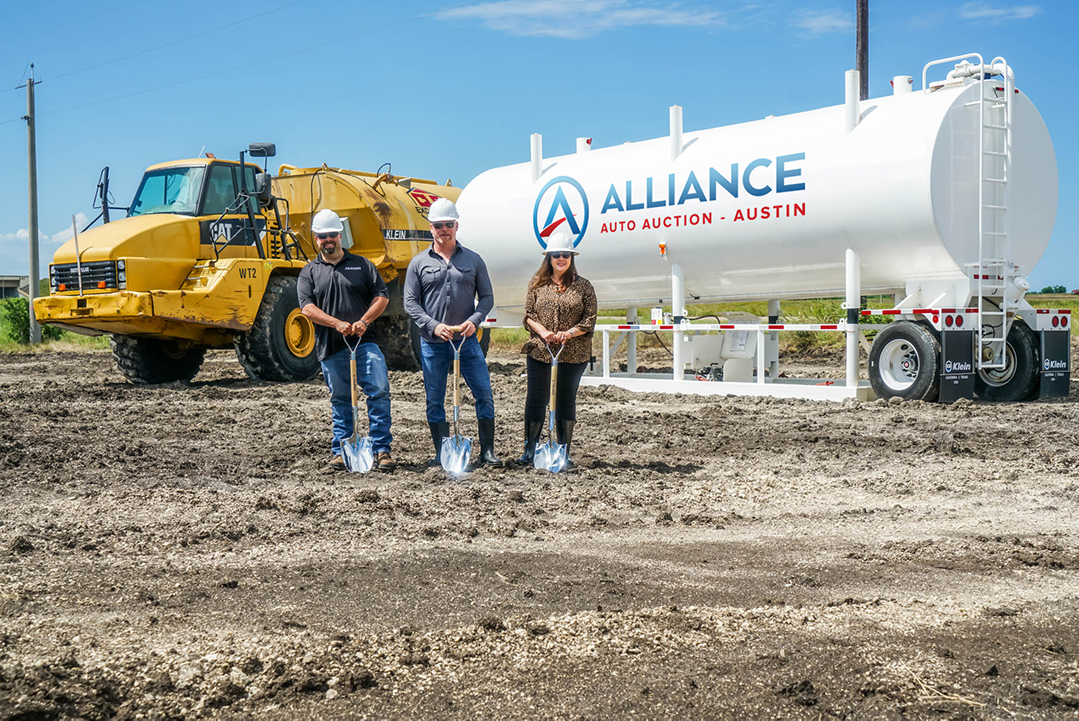 Alliance Austin ground breaking