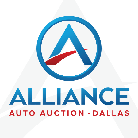 Logo for Alliance Auto Auction in Dallas Texas