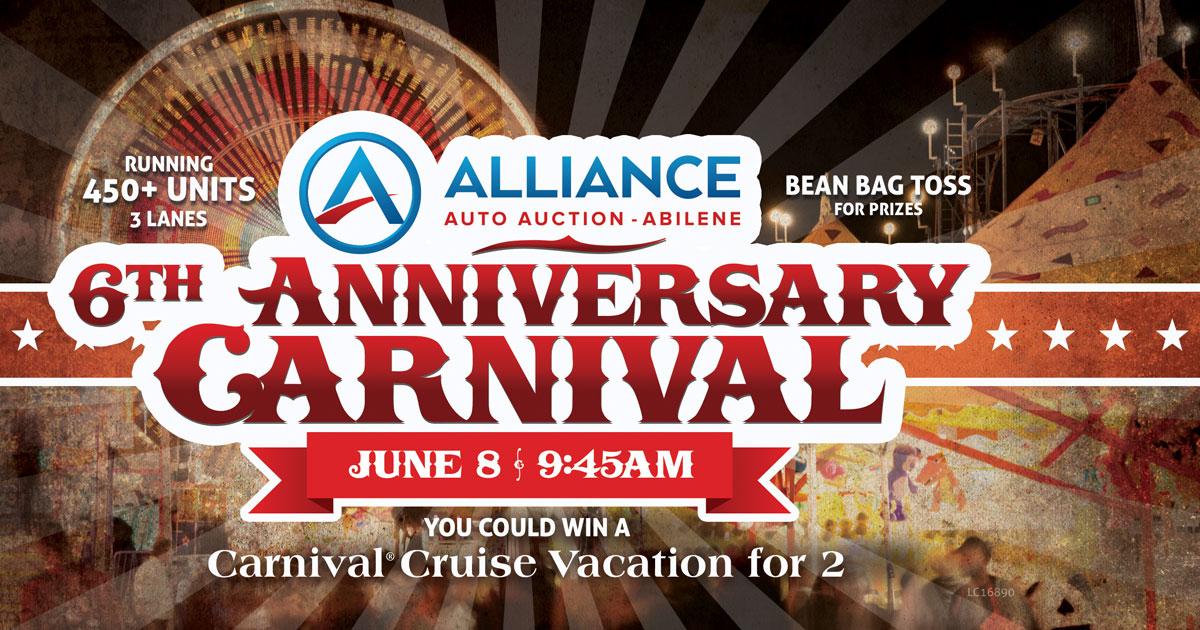 Abilene 6th Anniversary Carnival