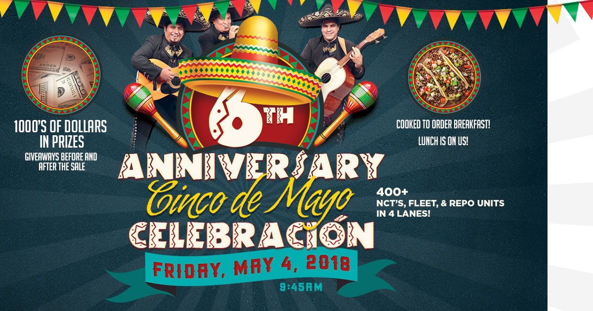 Waco 6th Anniversary Cinco de Mayo Celebracion