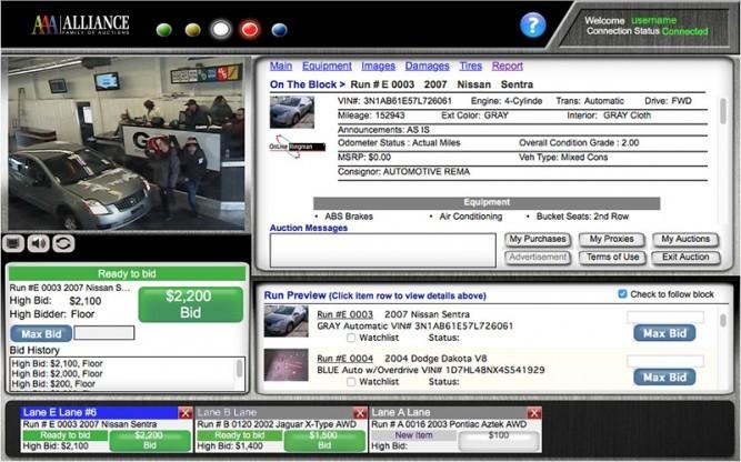 Online Ringman Interface Demo