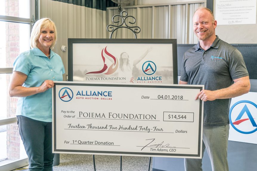 Poiema Foundation Alliance Auto Auction Partnership