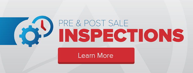Learn more about Pre and Post Sale Inspections